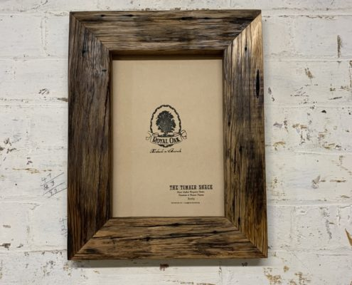 Chunky Oiled Rustic Picture Frame_Front_