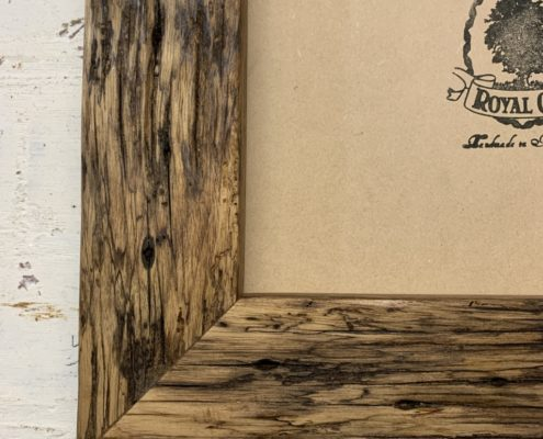 Chunky Oiled Rustic Picture Frame_detail_2