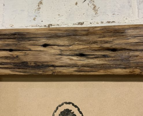 Chunky Oiled Rustic Picture Frame_detail_5