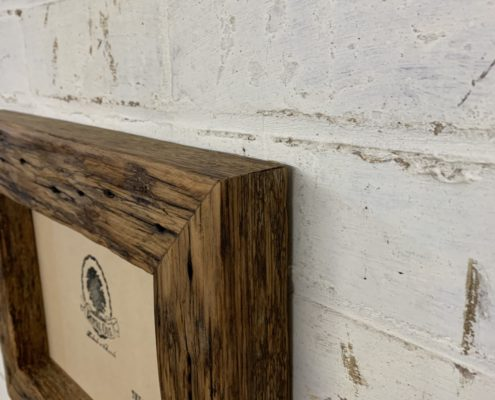 Chunky Oiled Rustic Picture Frame_detail_9