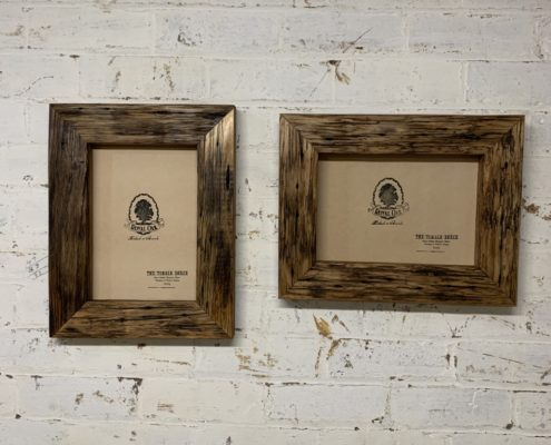 Chunky Oiled Rustic Picture Frame_double