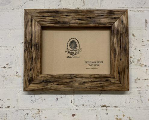 Chunky Oiled Rustic Picture Frame_front