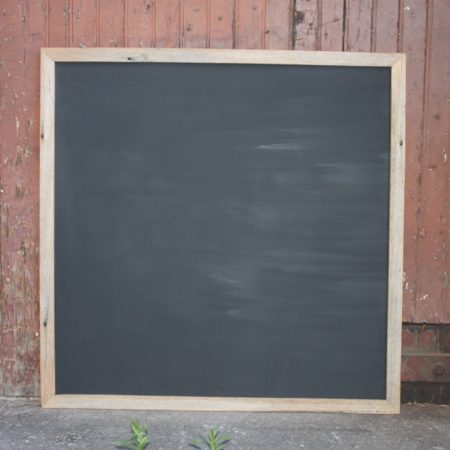 Rustic Timber Chalkboard