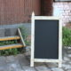 Picket Fence A-Frame Chalkboard