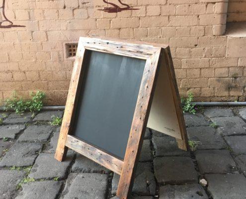Rustic Chunky Chalkboard