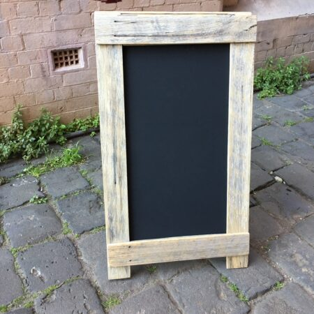 Wide A-Frame Shop Chalkboard