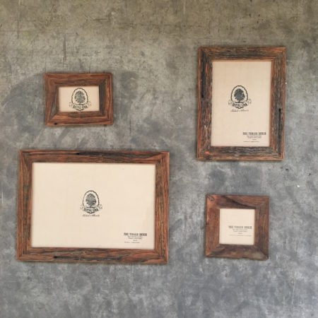 Oiled Recycled Timber Picture Frame