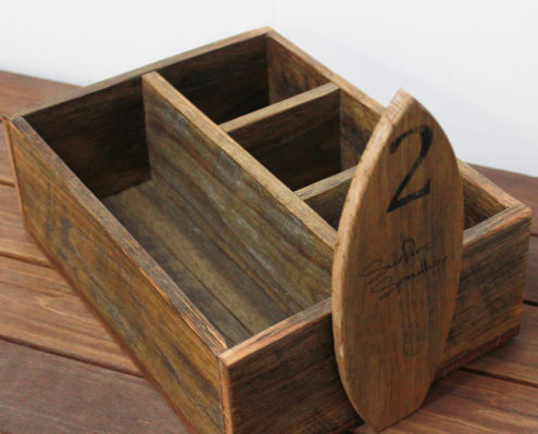 Rustic Condiment Caddy