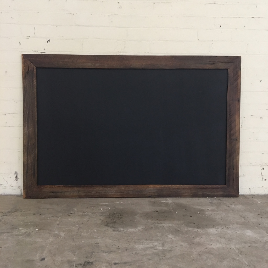 Large Wall Hung Chalkboard The Timber Shack
