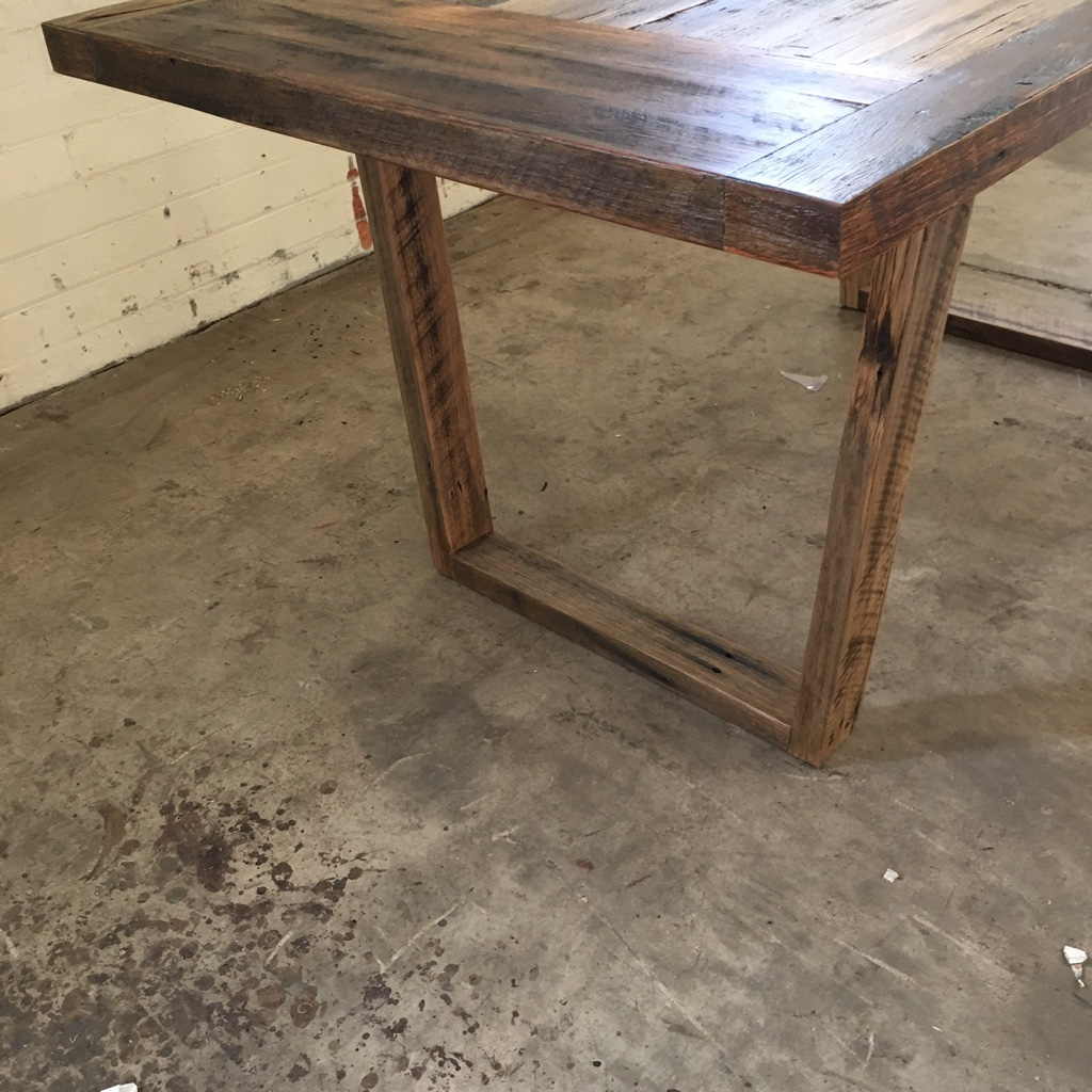 Rustic Dining Table From Palings & Rails