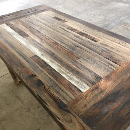 Rustic Dining Table Recycled Timber