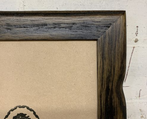 Charred_Driftwood_Recycled_Picture_Frame_Detail_3