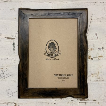 Charred_Driftwood_Recycled_Picture_Frame_Front