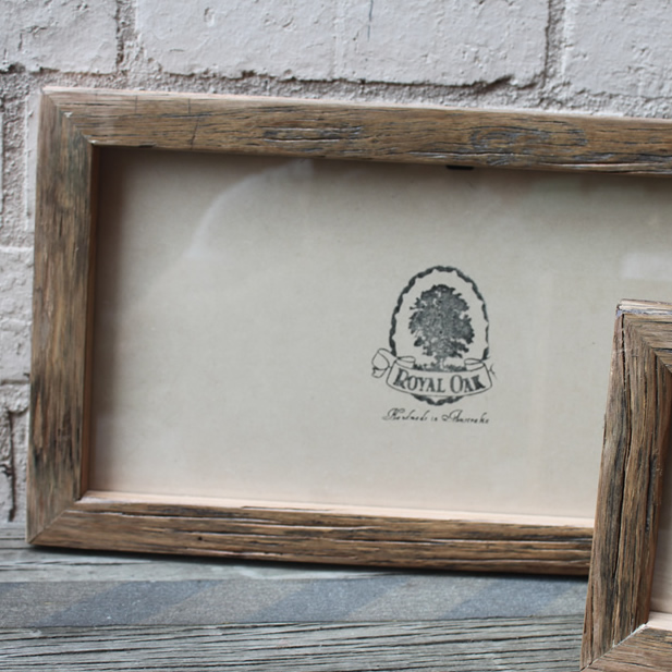 Mini Chunky Recycled Timber Picture Frame - The Timber Shack