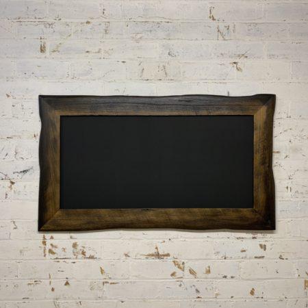 Charred Edge Framed Blackboard