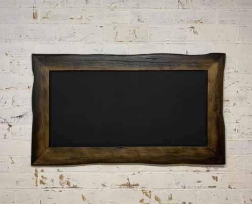 Charred Edge Framed Blackboard