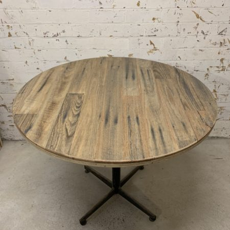 Round Recycled Cafe Table Top