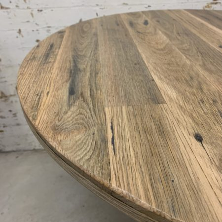 Rustic Round Cafe Table Top